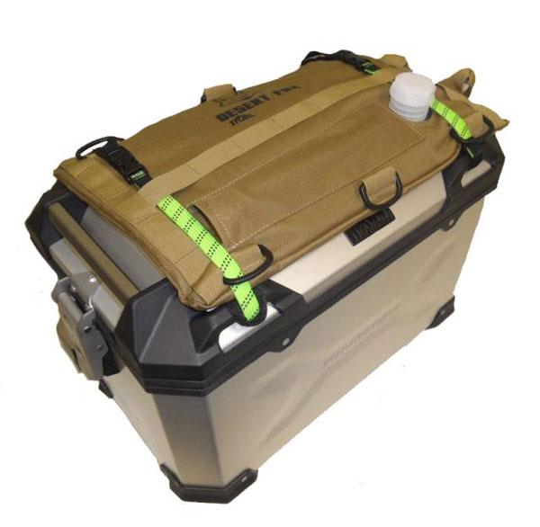 3 liter fuel bag on bike luggage